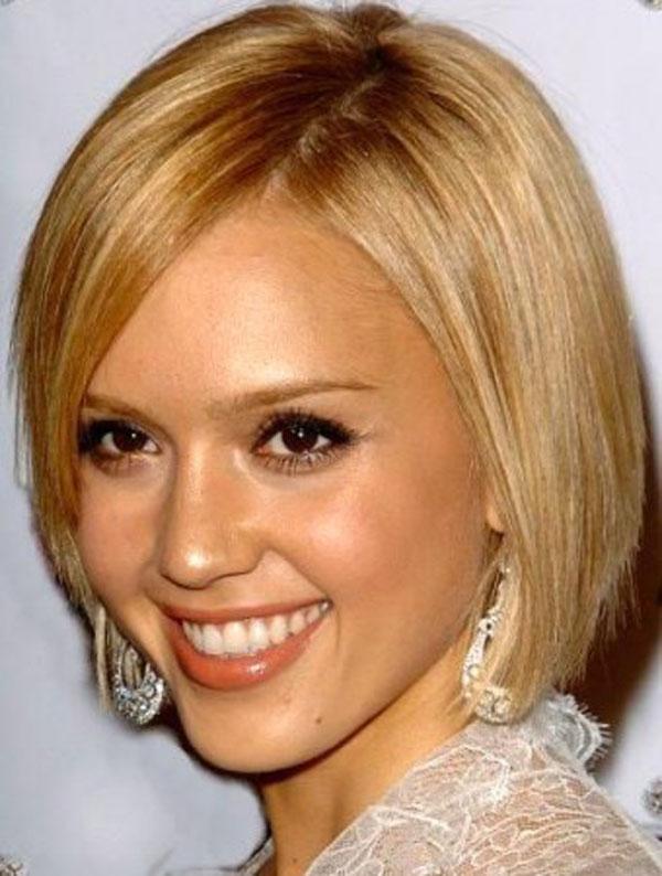 Причёска боб каре для овального лица фото