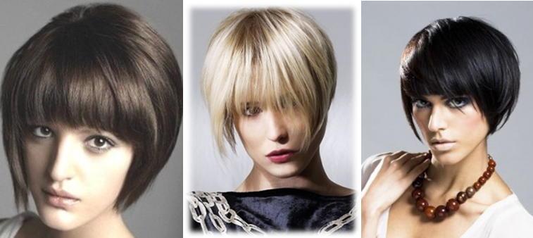 Элегантная косая челка фото 9