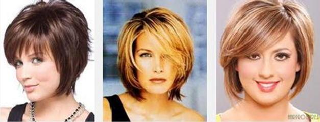 Причёски для круглолицых полных женщин