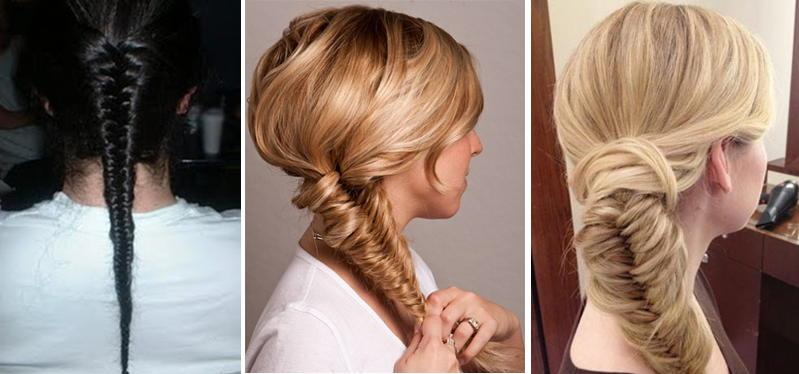 Прически для редких волос фото косы