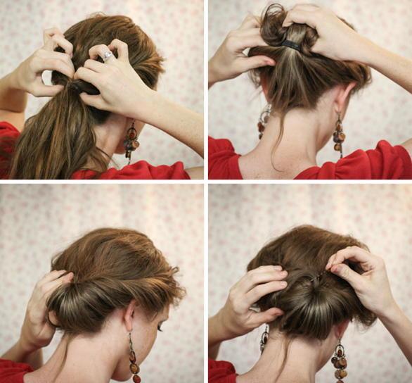 Прически на средние волосы своими руками просто и быстро
