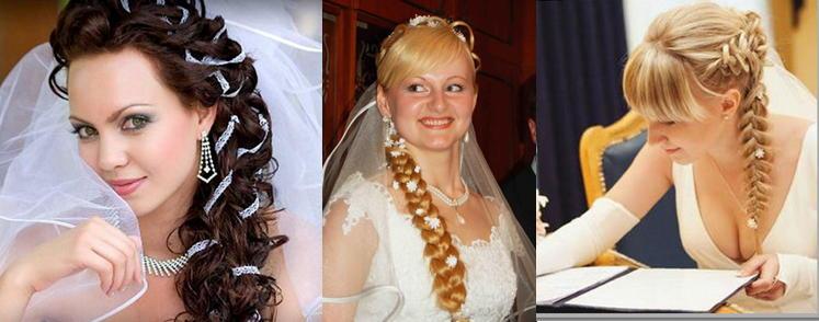 Свадебные прически фото с челкой и диадемой фото