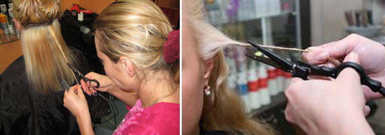 Причёска или стрижка горячими ножницами