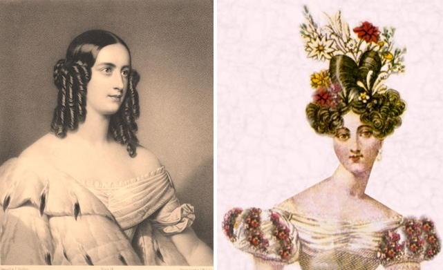 женские прически 19 века видео