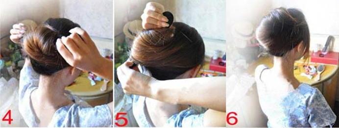 как сделать прическу с помощью шпилек