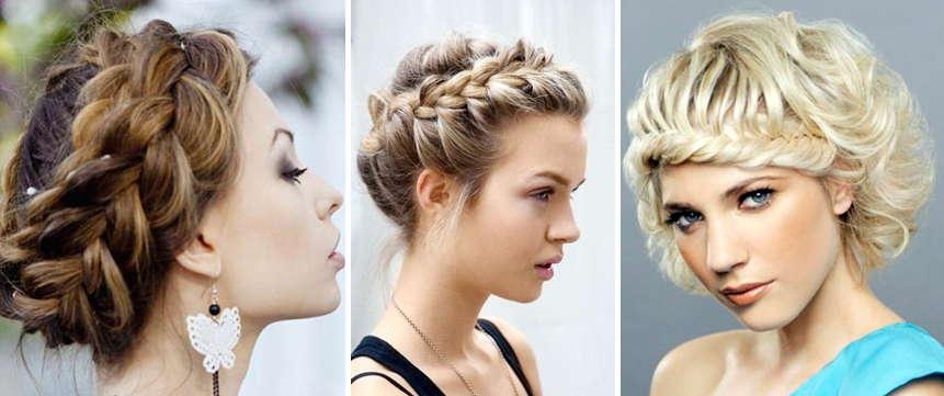 Прическа-коса на длинные волосы