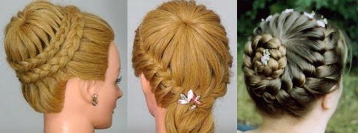 видео плетение кос на длинные волосы