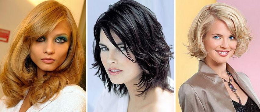 Волосы средней длины укладки в домашних условиях