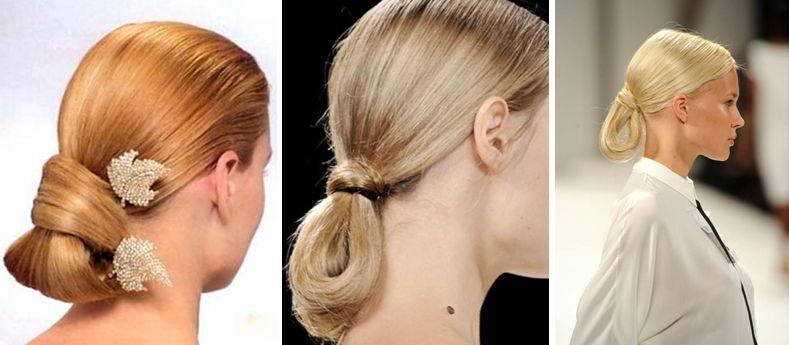 Прически с собранными волосами на повседневные дни