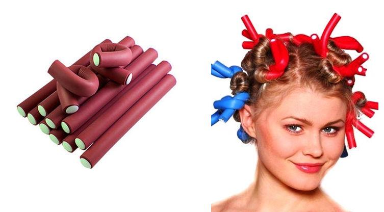 Бигуди для длинных волос