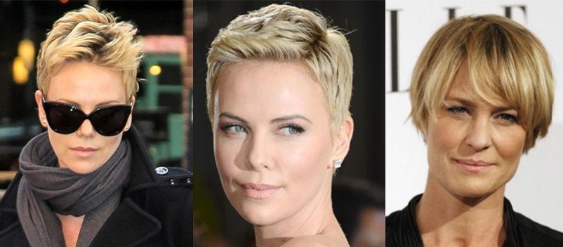 стрижка для круглого лица до и после фото