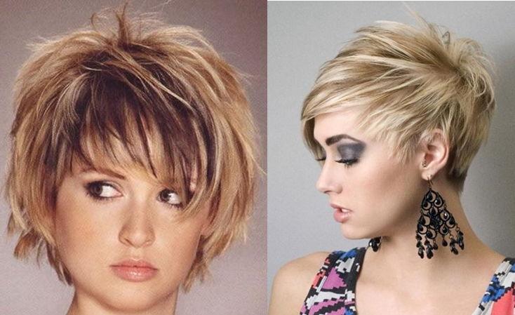 Какие причёски подходят к круглому лицу фото для полных