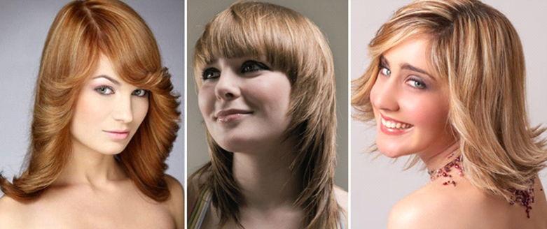 Начесы на средние волосы
