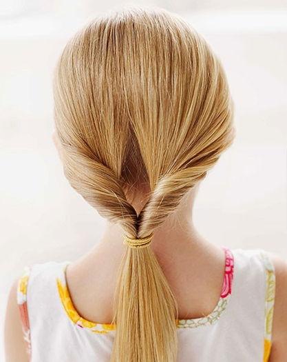 Простые причёски для девочек с пошаговыми фото