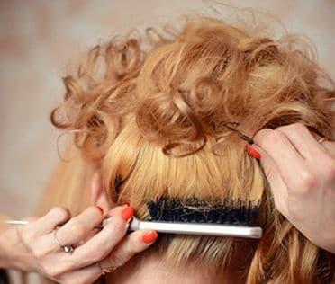 Как сделать розу на волосах в домашних условиях