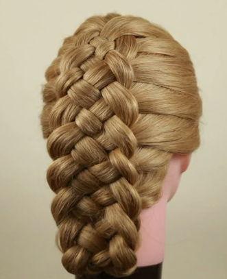 Как плести косу из 5 прядей?