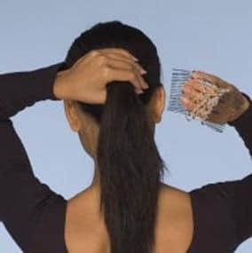 Прически с гребнем для волос