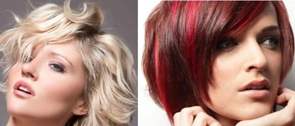 стрижки на густые волосы фото