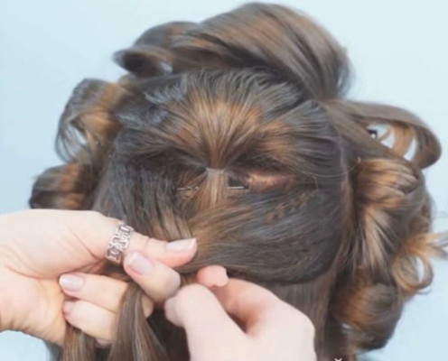 Cвадебные косы фото и мастер-классы