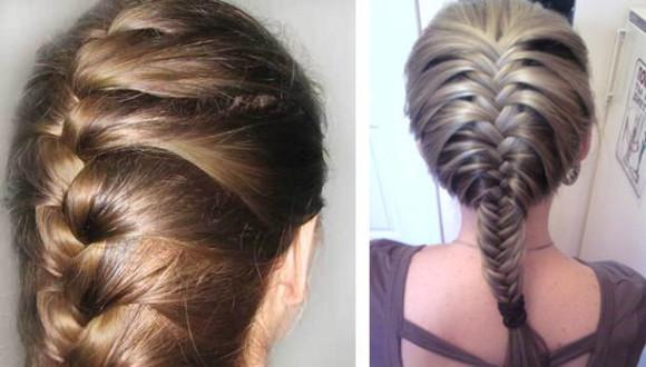 Повторяйте действия пока не закончатся незадейстованные в косе волосы