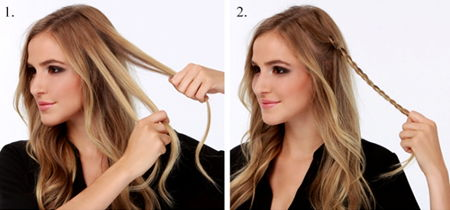 Прически на длинные волосы на осенний бал