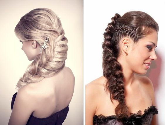 Причёски на длинные волосы на свадьбу к подруге фото