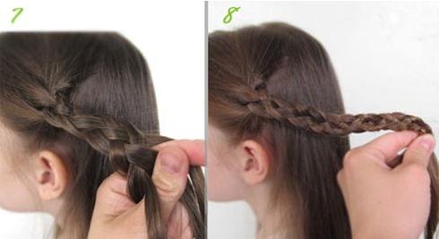 плетение до кончиков волос