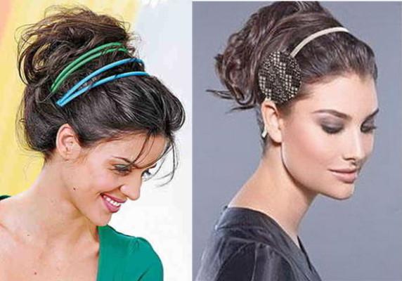 накрученные волосы в греческом стиле