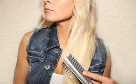легкая коса-твист