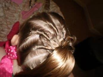 Красивые прически для маленьких девочек