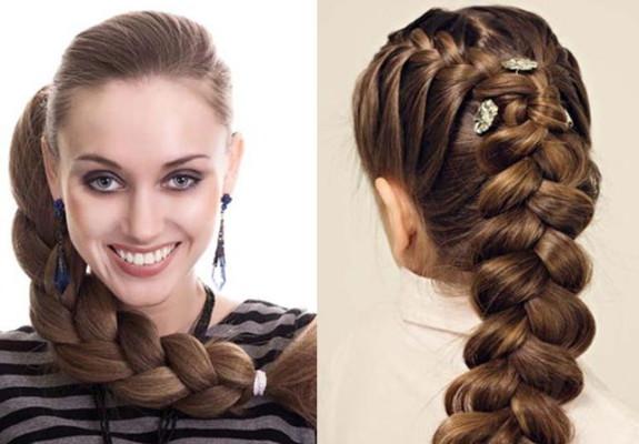 Косы – изумительный и легкий способ управления густыми волосами