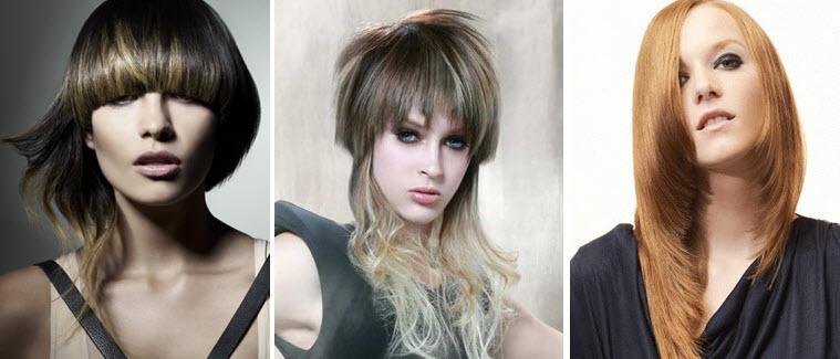 Стрижки асимметрия на длинные волосы