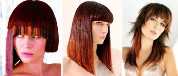 Асимметричные прически на короткие и средние волосы