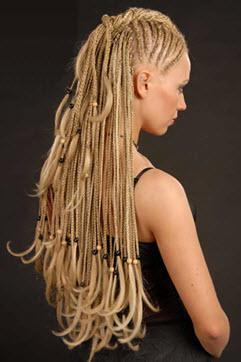 Африканские косички – вариант красивой и необычной прически