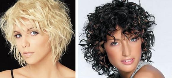 Эффект мокрых волос на коротких стрижках