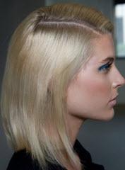 Волосы, обработанные термозащитным спреем
