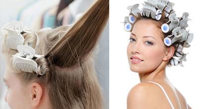 Термобигуди хороши для создания кудрей из тонких волос