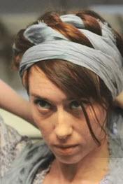 Наматывание шарфа вокруг головы