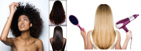 Выровнять волосы в домашних условиях без утюжка 344