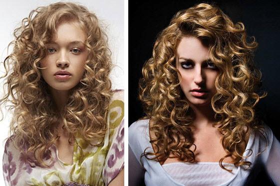 Как сделать объемные локоны на длинные волосы