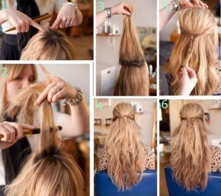 Создание стильного hairstyle с начесом