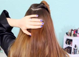 Волосы в области затылка