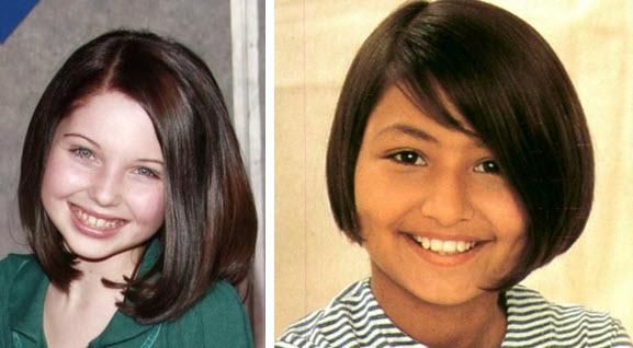 Короткие стрижки для девочек 12 лет