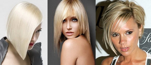 Асимметрия на средние волосы