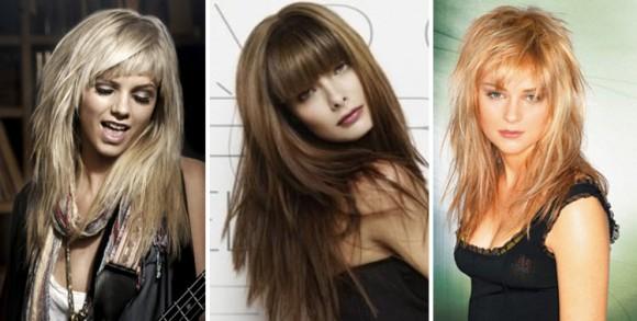 Градуированная (многослойная) стрижка для длинных волос
