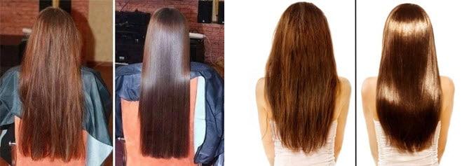 Маска для блестящих волос в домашних условиях