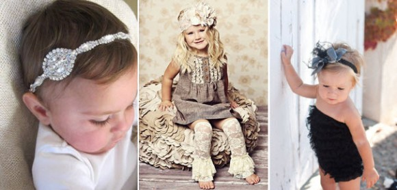 Праздничные вариации ободков для девочек