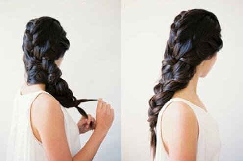 Объемная коса – основа стильного образа