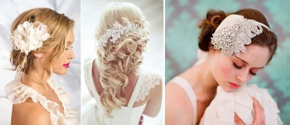 Прически невесты, украшенные красивыми аксессуарами