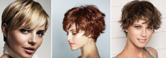 Красивые варианты укладок на короткие волосы